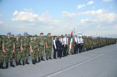 Смена српског контингента ангажованог у мултинационалној операцији у Либану